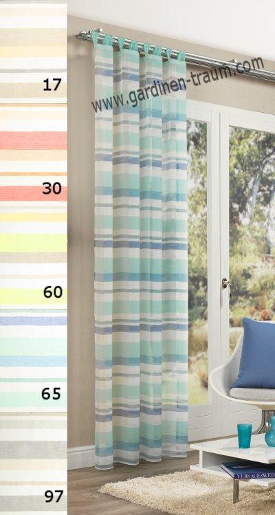 transparent bunt schals gardinen. Black Bedroom Furniture Sets. Home Design Ideas