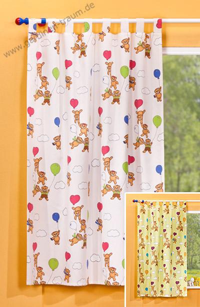Dekostoffe kinderzimmer kinderzimmer gardinen for Schlaufenschal kinder